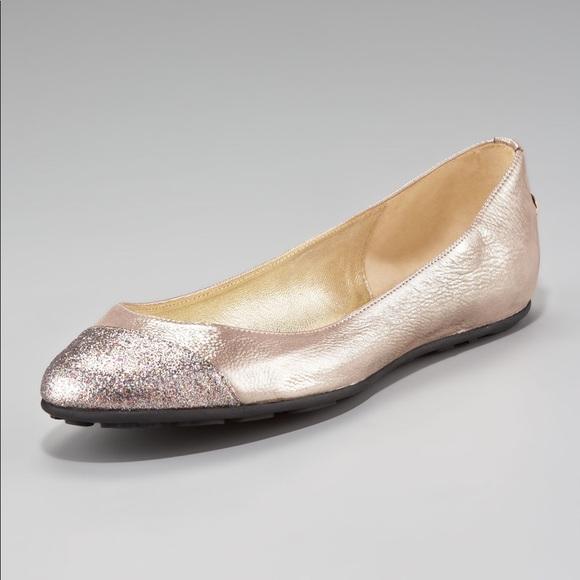 d0f9ebc6e7 Jimmy Choo Shoes - Jimmy Choo 'Whirl' Glitter Flat